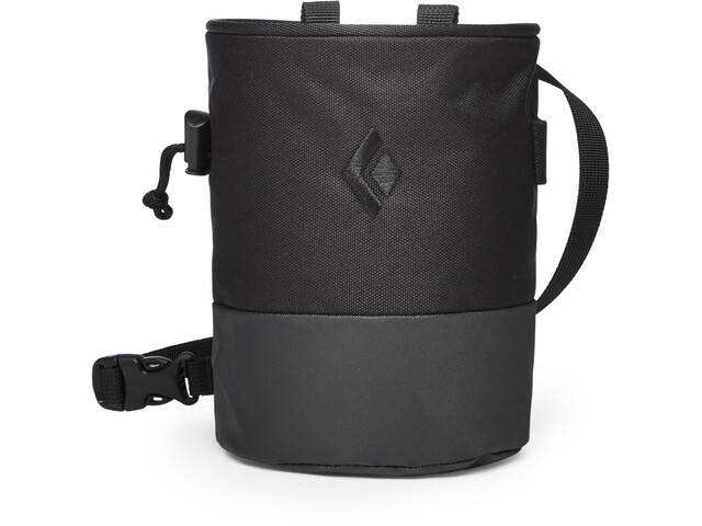 Black Diamond Mojo Zip Bolsa de tiza M/L, black-slate